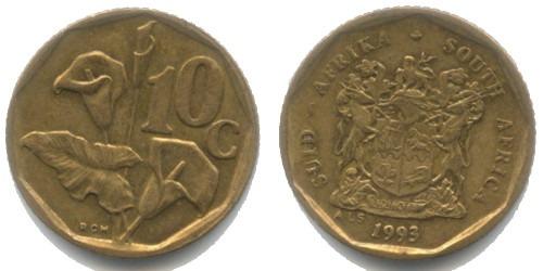 10 центов 1993 ЮАР