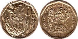 20 центов 1995 ЮАР