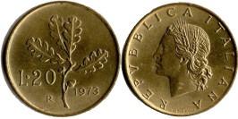 20 лир 1973 Италия
