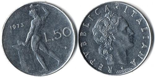 50 лир 1973 Италия