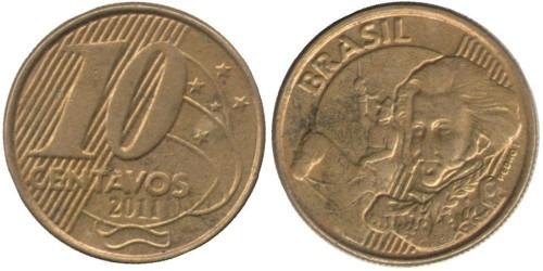10 сентаво 2011 Бразилия