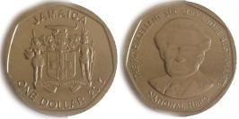 1 доллар 2015 Ямайка