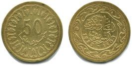 50 миллимов 1983 Тунис