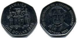 1 доллар 1999 Ямайка