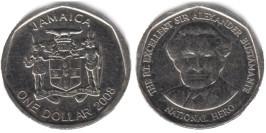 1 доллар 2008 Ямайка