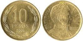 10 песо 2006 Чили