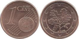 1 евроцент 2013 «А» Германия