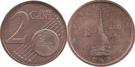 2 евроцента 2009 Италия