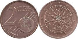 2 евроцента 2008 Австрия