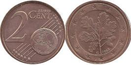 2 евроцентов 2002 «G» Германия
