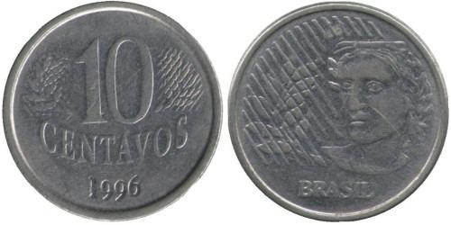10 сентаво 1996 Бразилия