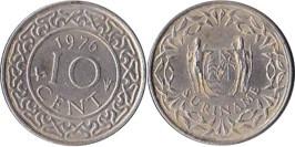 10 центов 1976 Суринам