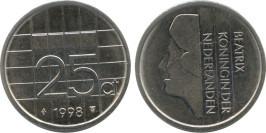 25 центов 1998 Нидерланды