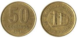 50 сентаво 1994 Аргентина