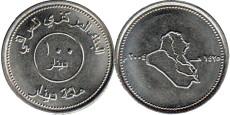 100 динаров 2004 Ирак