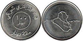 100 динаров 2004 Ирак UNC