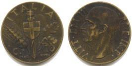 10 чентезимо 1940 Италия — Алюминиевая бронза — жёлтый цвет