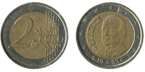 2 евро 1999 Испании