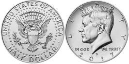 50 центов 2017 D США