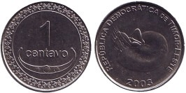 1 сентаво 2003 Восточный Тимор