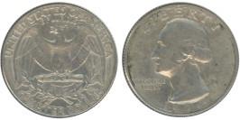 25 центов 1974 США