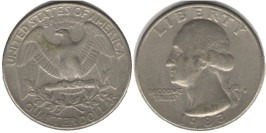 25 центов 1983 D США