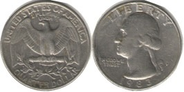 25 центов 1983 P США