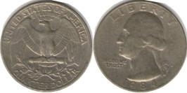 25 центов 1984 P США