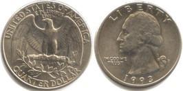 25 центов 1993 P США