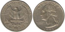 25 центов 1998 P США