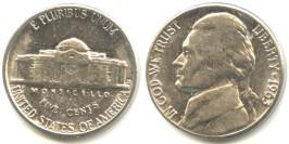5 центов 1963 D США