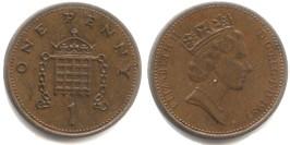 1 пенни 1985 Великобритания