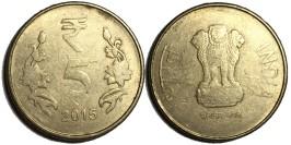 5 рупий 2015 Индия — Калькутта