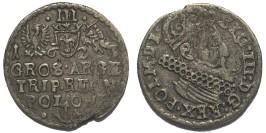 3 гроша (трояк) 1623 Польша