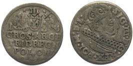 3 гроша (трояк) 1624 Польша