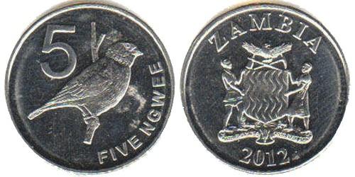 5 нгве 2012 Замбия
