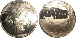 Медаль — Зимние Забавы — Нидерланды