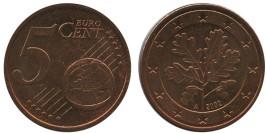 5 евроцентов 2002 «А» Германия