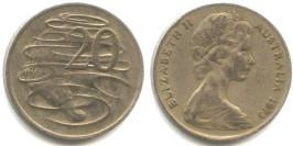20 центов 1973 Австралия