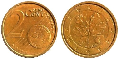 2 евроцента 2006 «G» Германия