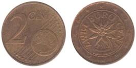 2 евроцента 2010 Австрия