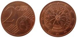 2 евроцента 2012 Австрия