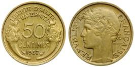50 сантимов 1937 Франция