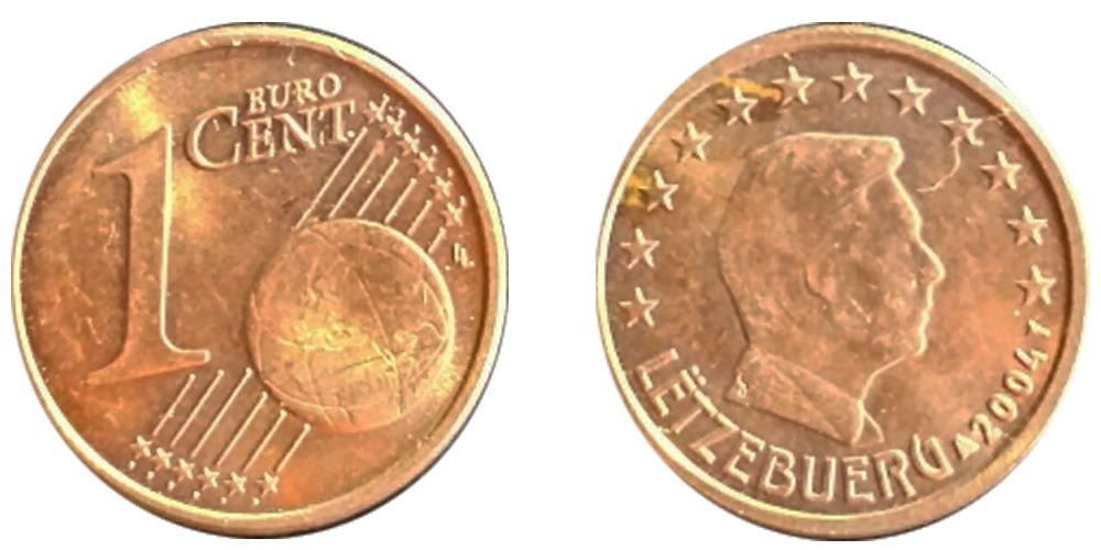 1 евроцент 2004 Люксембург