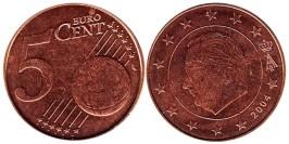 5 евроцентов 2004 Бельгии