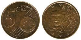 5 евроцентов 2000 Франция
