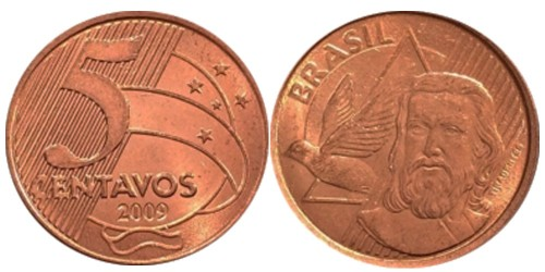 5 сентаво 2009 Бразилия