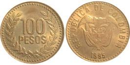 100 песо 1995 Колумбия