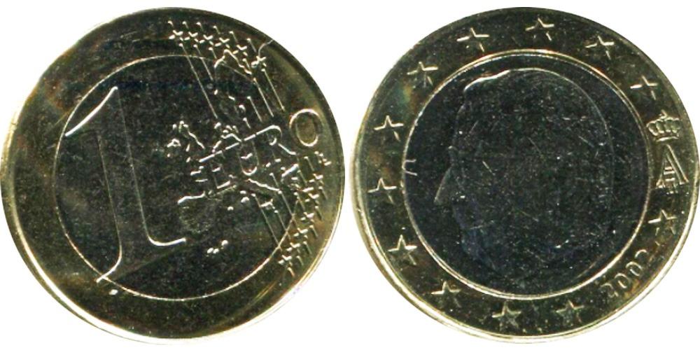 1  евро 2002  Бельгия