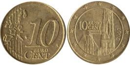 10 евроцентов 2007 Австрия